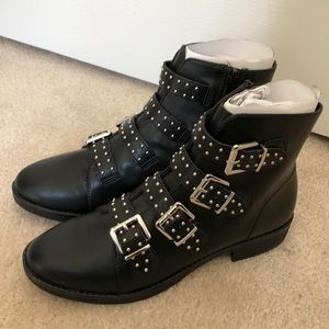 AEO Studded Buckle Boot